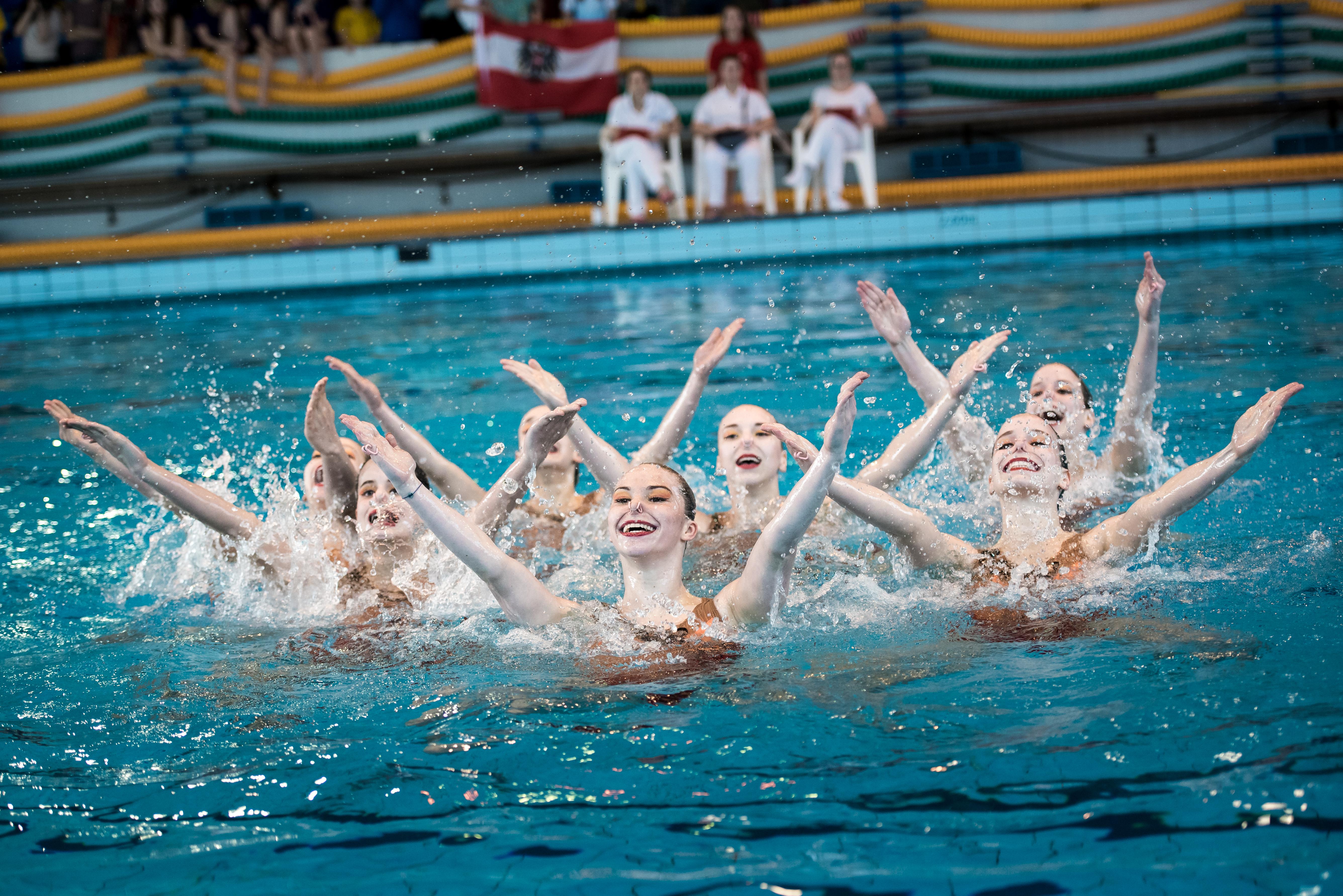 Schnupperkurs Synchronschwimmen startet wieder mit 19. Februar