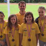 3. Platz für die Mädchen beim Finale der Österr. Schülermannschaftswettkämpfe