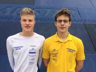 EYOF Limits für Sebastian Giefing und Florian Stefanik