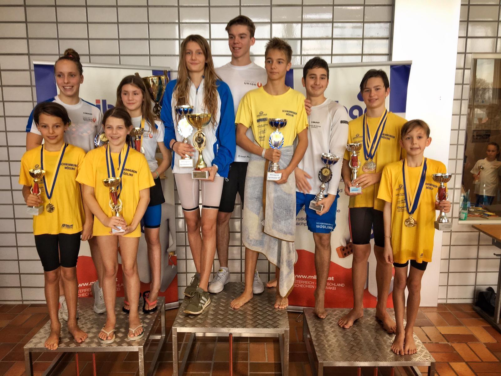 Medaillenregen für die SUM bei den Sportunion-Landesmeisterschaften