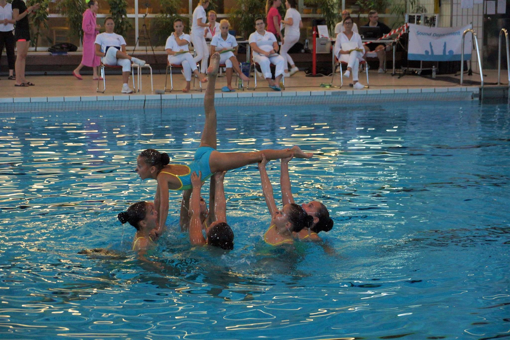 Schnupperkurs Synchronschwimmen für Mädchen und Burschen – Jahrgänge 2010 bis 2014