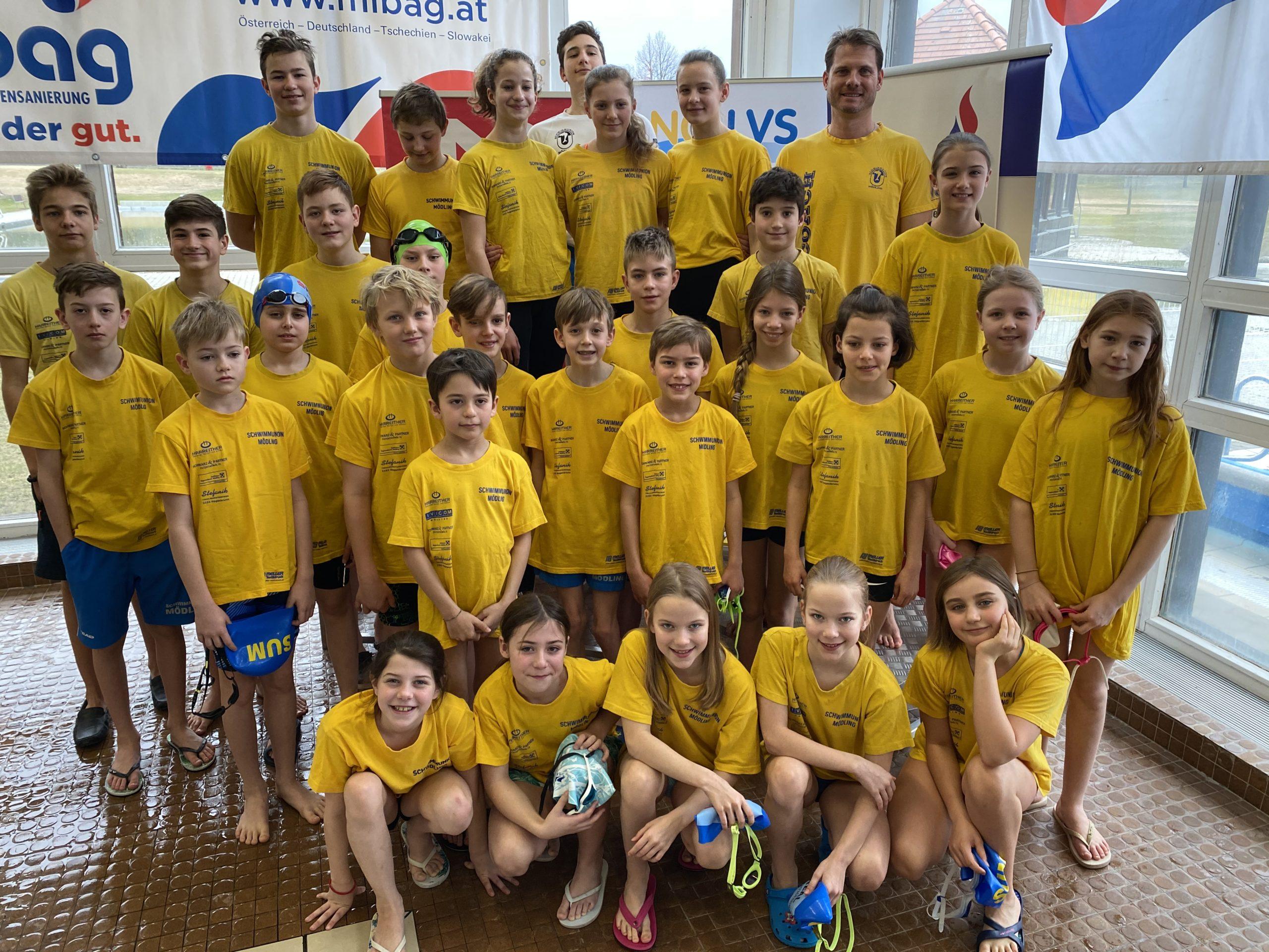 Medaillenflut für die SUM bei den nö. Landesmeisterschaften
